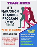 Virtual Marathon Training Program (MTP) - 2020